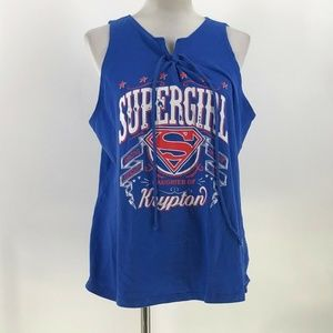 Superman SuperGirl Daughter of Krypton Juniors XL